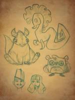 Sketch Page 3 by Ceydran
