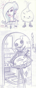 Sketchbomb November 2011 by Ceydran