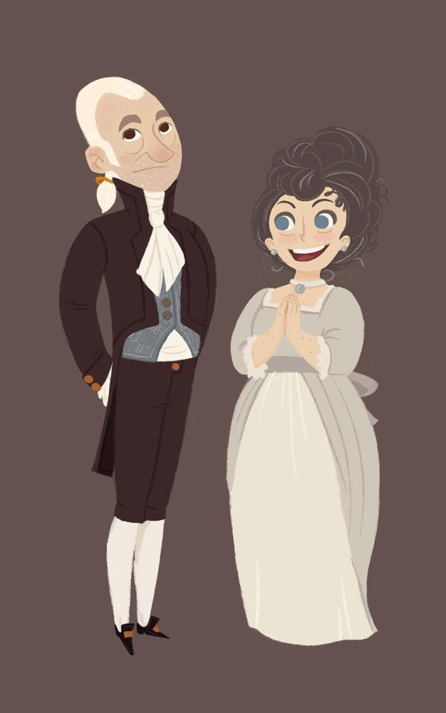 Mr. and Mrs. Bennet... in progress by Ceydran