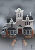 Creepy House by Ceydran