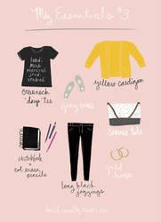 My essentials #3 by Ceydran
