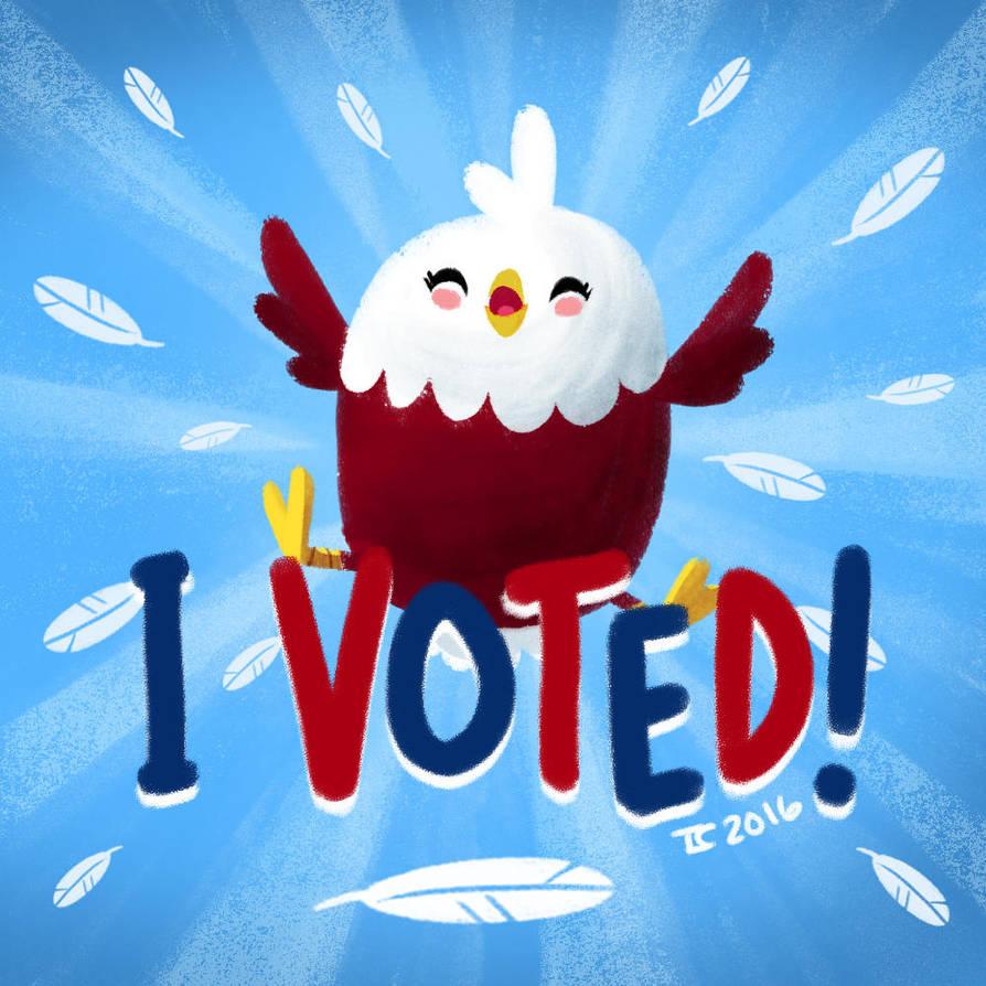 I Voted! by Ceydran
