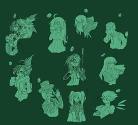 Sketches Octubre 3 by dan-heron