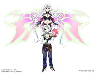 Commission Densuo Ageha Final by dan-heron