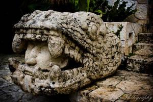 Mayan Statue I by bizsumpark182