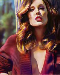 Julianne Moore study by Deathstars69