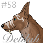 Delilah Icon Commission by SterlingChainChomp