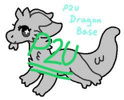 P2u Dragon Base by KittnBun