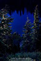 Sunrise Lake by HeatherTelesca