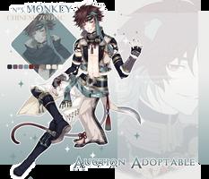 [CLOSED] Adoptable Chinese Zodiac #3: Monkey by Katzyrine