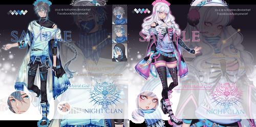 Astral God N14 and N15 by Katzyrine