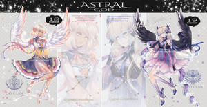 [Closed] Astral God N18 and N19 - Auction by Katzyrine