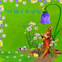 First day of the spring ! by weezya