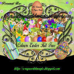 Colours Easter Kit Free by weezya
