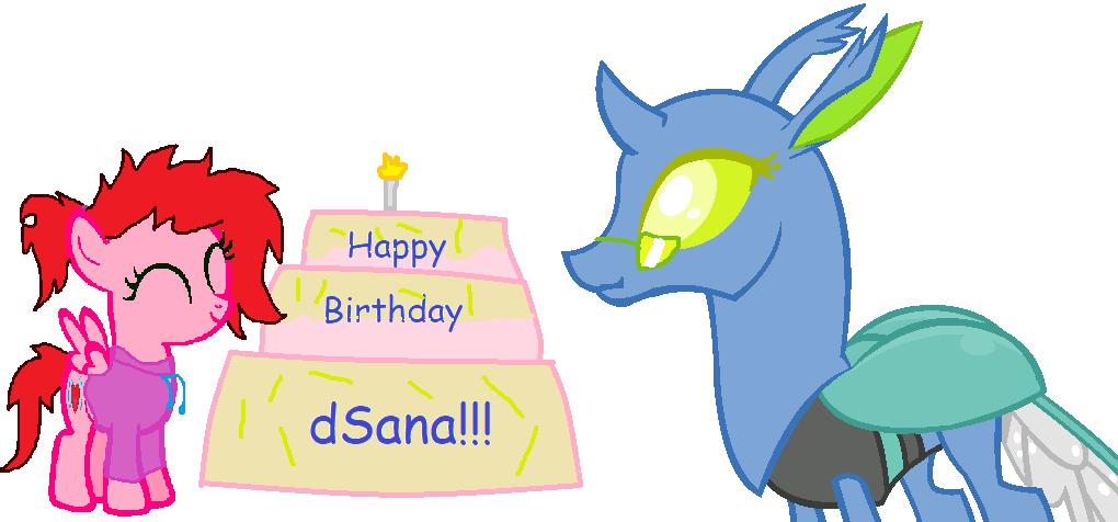 Happy Birthday dSana!!! by LovestruckDart