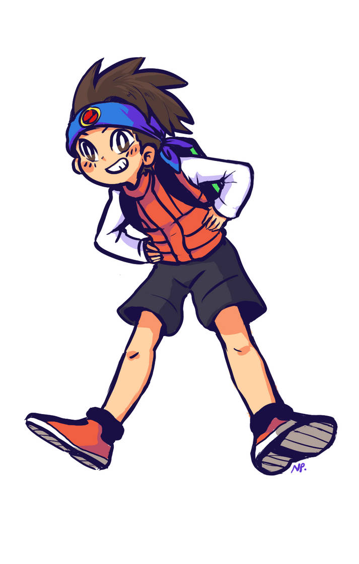 MMBN: ok I love this kid so much by Nippo