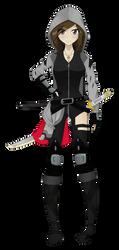 (OC Redesign) Yuri Mochizuki by BurningTiger9000