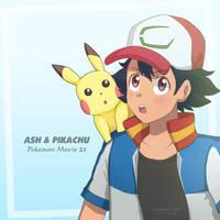 Ash - Pokemon Movie 21 by ipokegear