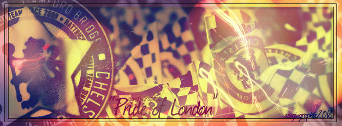 Chelsea Pride Of London by rdesignofficial