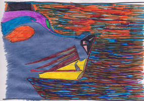 Perris psicodelicodelizado de perfil by LaNarizDeAnais