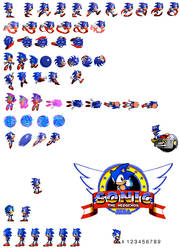 Sonic CD 2 sprites by dinojack9000