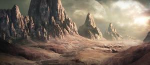 Alien planet by WiredHuman