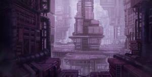 Sci-fi indusrty 2 by WiredHuman