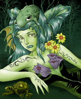 Collab:Frog Princess by himiko