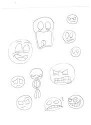Trevor doodles by MexicanDumpling