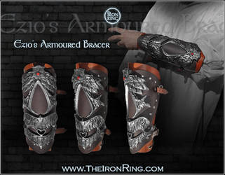 Ezio's armoured bracer by TheIronRing
