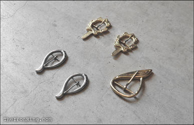 Legolas' brooches kit by TheIronRing