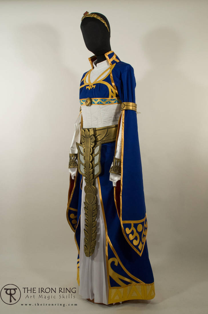 Princess Zelda Royal Dress - Breath of the Wild by TheIronRing