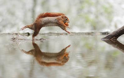 Walking Over Water by JulianRad