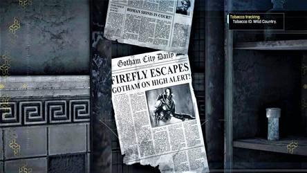 BATMAN: ARKHAM ASYLUM 41 - FIREFLY ESCAPES by CommanderKorra