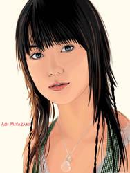 Aoi Miyazaki by Loneicon