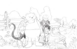 Botamo the Pooh by FnrrfYgmSchnish
