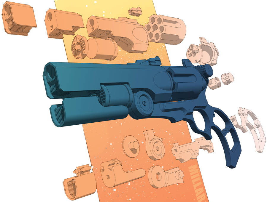 Hand Cannon by SkullGarden