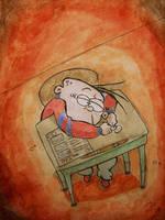 The School Days by daCartoonreality