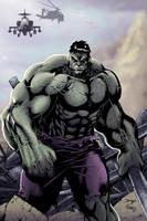 Hulk by DiegoBernard by clondike7
