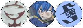 Jellal Fernandes - Profile Decoration *blue* by Cheschire-Kaat