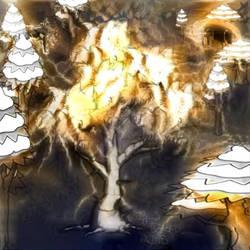 Howling Tree by bansheekin