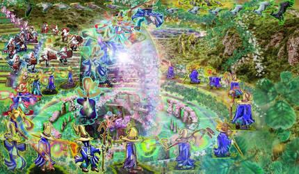 Fairy Circles by bansheekin