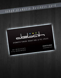 debah business card by skykhan