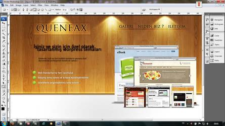 queneax theme site by skykhan
