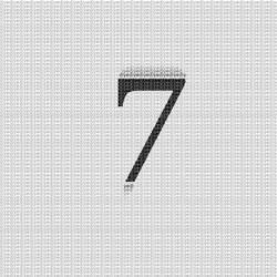se7en typography by skykhan