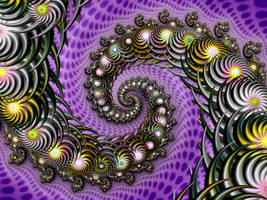Daisy Chain Spiral by Thelma1