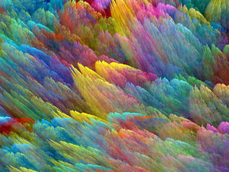 Rainbow Clouds by Thelma1