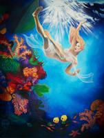 Underwater by artediamare