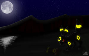 Umbreon's night by Dragon-Minded