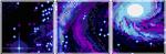 Divider|Galaxy by RandomnessRandom